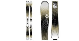 K2 BELUVED 78TI 2016 WOMENS SKIS WITH MARKER ERP 10.0 BINDINGS