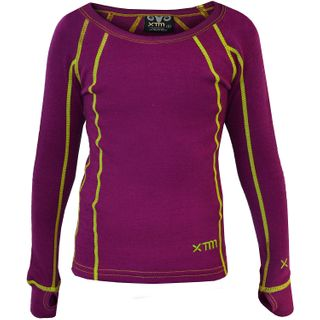 XTM MERINO KIDS TOP - BOYSENBERRY - 230 GRAMS