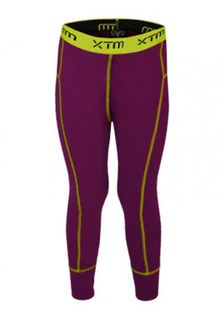 XTM MERINO KIDS PANTS - BOYSENBERRY - 230 GRAMS