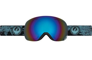 DRAGON X1S ADULTS GOGGLES - MASON BLUE WITH FLASH BLUE POLARIZED LENS
