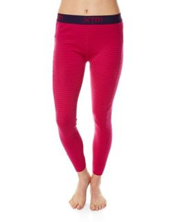 XTM MERINO WOMENS PANTS - PINK STRIPE - 230 GRAMS