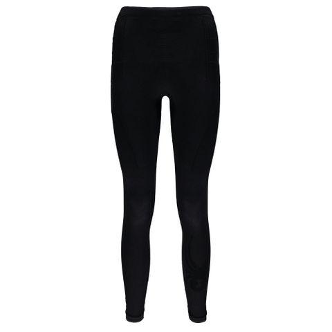 SPYDER VENOM WOMENS THERMAL COMPRESSION PANTS - BLACK - SIZE L