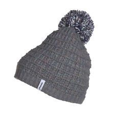 PHENIX GROOVY KNIT ADULTS BEANIE - GREY
