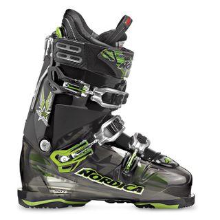 NORDICA FIREARROW F1 MENS SKI BOOTS - TRANSPARENT BLACK/BLACK