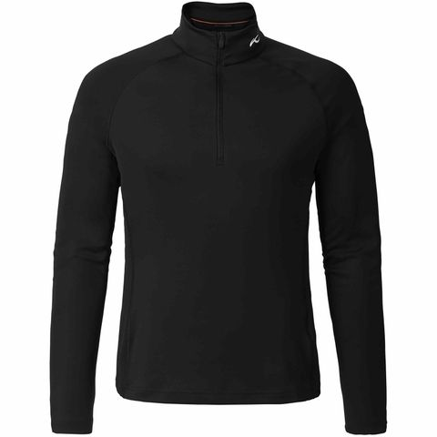 KJUS SECOND SKIN ('18) MENS TOP - BLACK - SIZE 50/M