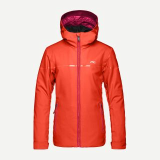 KJUS CARPA ('18) GIRLS JACKET - SPICY ORANGE