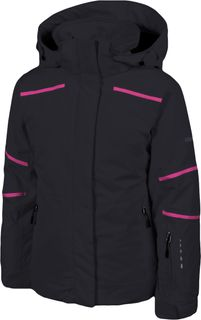KARBON ARTEMIS GIRLS JACKET - BLACK -  SIZE 14