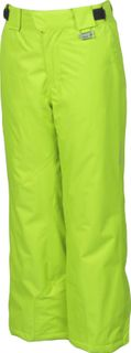 KARBON STINGER BOYS PANTS - ELECTRIC GREEN - SIZE 16