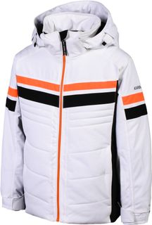 KARBON AXLE BOYS JACKET - ARCTIC WHITE
