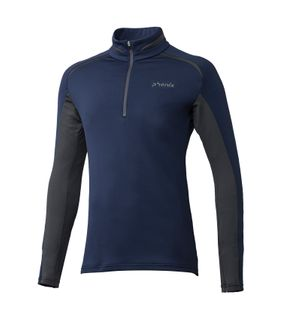 PHENIX PARACHUTE 1/2 ZIP T-NECK MENS TOP - NAVY 2