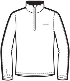 KARBON CHRONUS 1/4 ZIP MENS TOP - A1