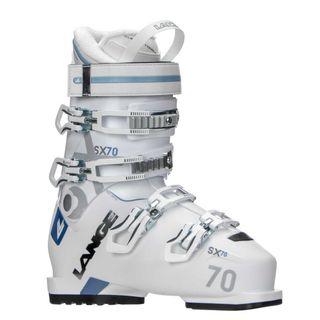 LANGE SX70W WOMENS SKI BOOTS (2018) - WHITE/BLUE