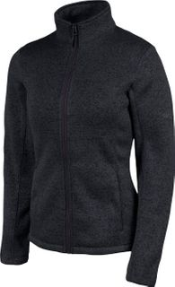 KARBON THEORY KNIT WOMENS JACKET - BLACK