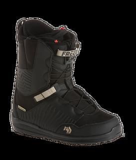 NORTHWAVE FREEDOM SL 2018 MENS SNOWBOARD BOOTS - BLACK - SIZE 26.5