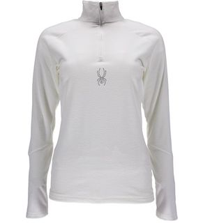 SPYDER SHIMMER ('18) WOMENS TOP - MARSHMALLOW - SIZE L