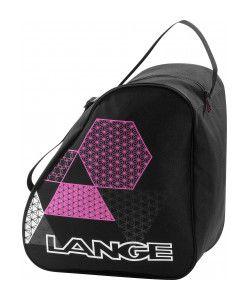 LANGE EXCLUSIVE WOMENS BOOT BAG - BLACK/PINK