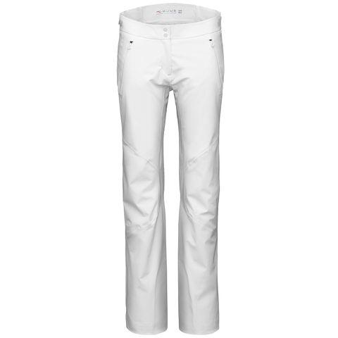 KJUS FORMULA WOMENS PANTS - WHITE - SIZE 40/L