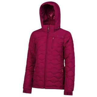 PROTEST NOCTON WOMENS JACKET - BEET RED