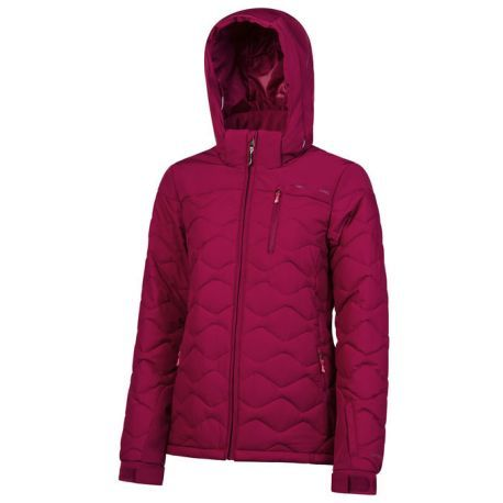 PROTEST NOCTON WOMENS JACKET - BEET RED - SIZE S