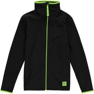O'NEILL RAILS ZIP KIDS TOP - BLACK OUT - SIZE 10