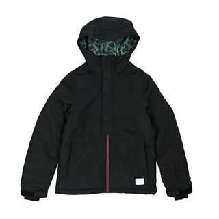 O'NEILL JEWEL GIRLS JACKET - BLACK OUT - SIZE 8