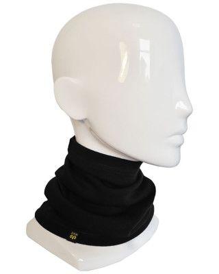 XTM MERINO NECKWARMER - BLACK