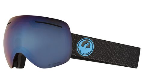DRAGON X1 ADULTS GOGGLES - SPLIT WITH LUMALENS BLUE ION LENS AND LUMALENS AMBER LENS