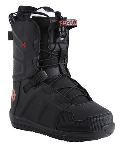 NORTHWAVE FREEDOM SL 2017 MENS SNOWBOARD BOOTS - BLACK - 25.5