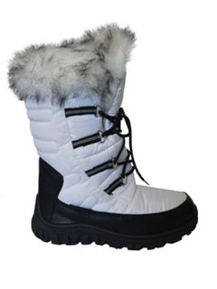XTM NADJA WOMENS APRES BOOTS - WHITE - SIZE 38