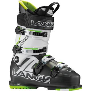 LANGE RX120 MENS SKI BOOTS - BLACK TRP/LIME