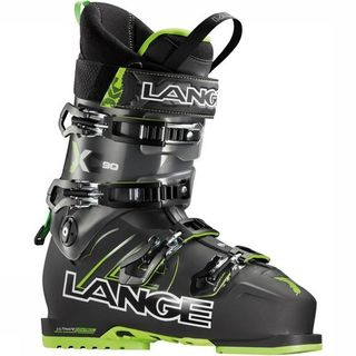 LANGE XC90 MENS SKI BOOTS - BLACK/LIME