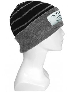 XTM TANNER ADULTS BEANIE - DARK GREY MARLE