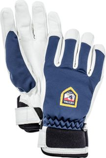 HESTRA MOJE C-ZONE WOMENS GLOVES - NAVY/WHITE
