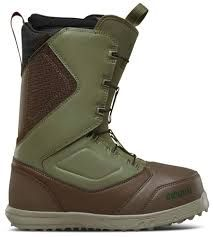 THIRTYTWO ZEPHYR FT 2018 MENS SNOWBOARD BOOTS - BROWN/GREEN - SIZE 9