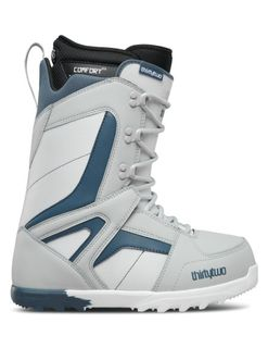 THIRTYTWO PRION 2018 MENS SNOWBOARD BOOTS - GREY - SIZE 9.5