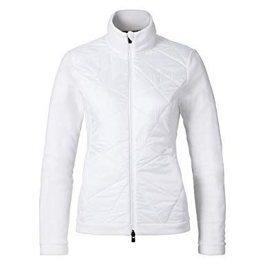 KJUS BAY MIX WOMENS MIDDLE JACKET - WHITE - SIZE 42