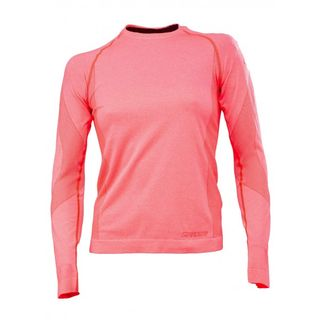 SPYDER RUNNER WOMENS THERMAL COMPRESSION TOP - BRYTE PINK