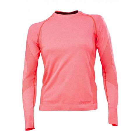 SPYDER RUNNER WOMENS THERMAL COMPRESSION TOP - BRYTE PINK - SIZE XL/2XL