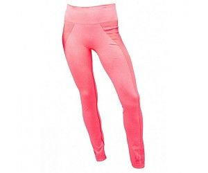 SPYDER RUNNER WOMENS THERMAL COMPRESSION PANTS - BRYTE PINK - SIZE M/L