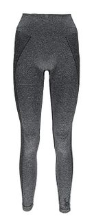 SPYDER RUNNER WOMENS THERMAL COMPRESSION PANTS - BLACK (GREY)