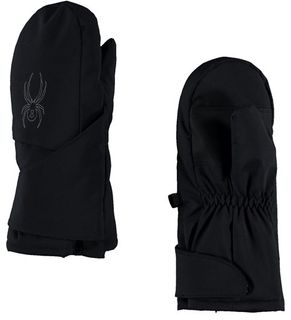 SPYDER MINI CUBBY BOYS MITTENS - BLACK/POLAR