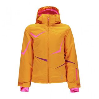 SPYDER TRESH GIRLS JACKET - EDGE/BRYTE BUBBLEGUM/WILD - SIZE 10