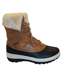 XTM GEORGIE WOMENS APRES BOOTS - BROWN - SIZE 40