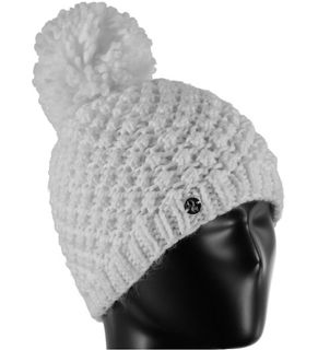 SPYDER BRRR BERRY GIRLS HAT - WHITE