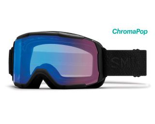 SMITH SHOWCASE ASIAN FIT WOMENS GOGGLES - BLACK MOSAIC WITH CHROMAPOP STORM ROSE FLASH LENS