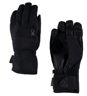 SPYDER THROWBACK GORE-TEX WOMENS GLOVES - BLACK/BLACK
