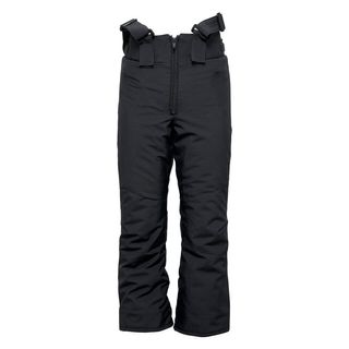 PHENIX HAKUBA REGULAR SALOPETTE KIDS PANTS - BLACK 1 - SIZE 8-12