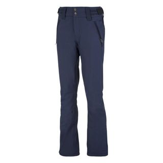 PROTEST LOLE SOFTSHELL WOMENS SKI PANTS - GROUND BLUE - SIZE XL