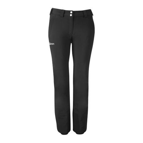 HALTI PUNTTI LONG WOMENS PANTS - BLACK - SIZE 36/8 LONG