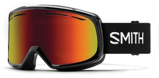 SMITH DRIFT AULTS GOGGLES - BLACK WITH RED SOL-X MIRROR LENS